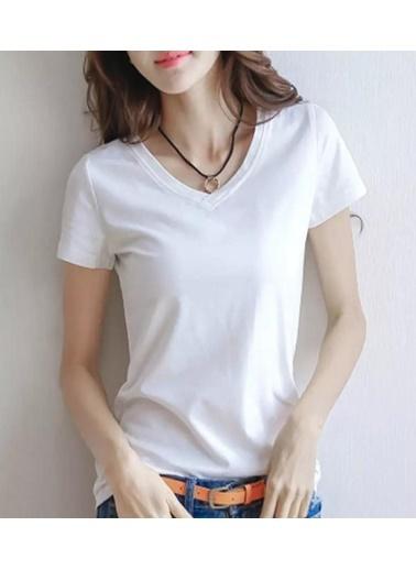 BLACK&GRACE Tişört Beyaz
